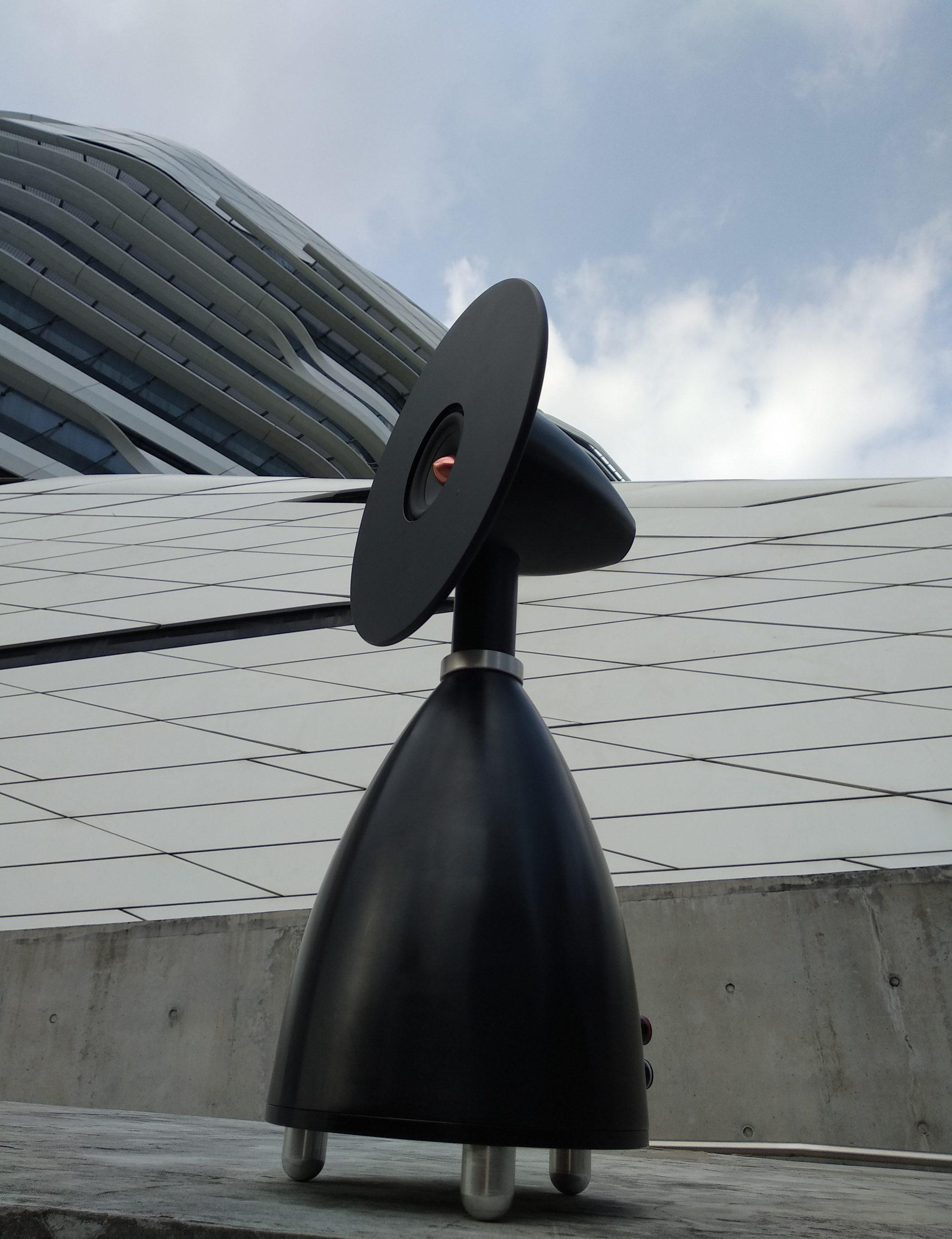 Metallic Art Speakers